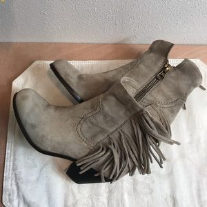 "Sam Edelman ""Louie"" Suede Ankle Boot Size 6M"